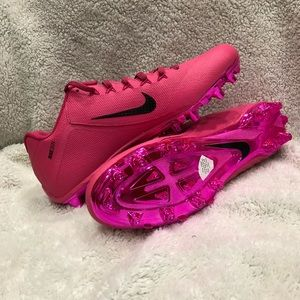 Nike Alpha Pro II Low TD Football Cleats 15 Pink